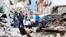 Shelterbox team return from Italy after deadly quake