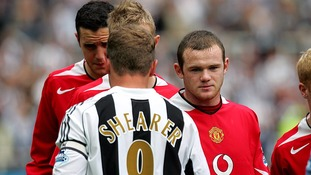 Shearer and Rooney