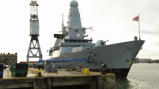 Portsmouth warship deployed to fight IS