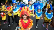 Bright costumes show the best of Notting Hill Carnival.