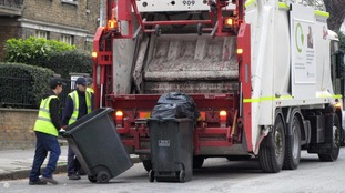 There has been a sharp rise in attacks on binmen