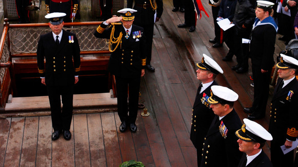 Royal Navy marks Trafalgar Day