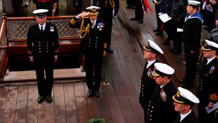 Royal Navy marks Trafalgar Day