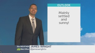 Wales weather: Settled and sunny!