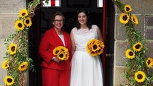 First same-sex couple tie the knot in Derbyshire