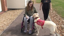 Woman with rare condition finds hope in detection dog