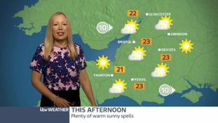 Staying warm with sunny spells