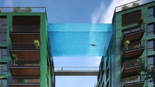 London developers get the green light to build 25m 'sky pool' between two buildings