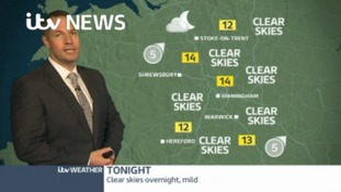 West Midlands Weather: Clear at first then becoming cool