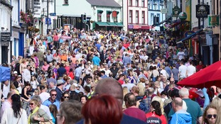 There was a huge turnout on the first day of the Auld Lammas Fair.