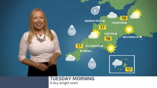 Dry with plenty of warm spells