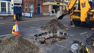 The Malone Road has reopened following work on a subsidence.