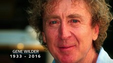 Actor Gene Wilder 'died holding family's hands'