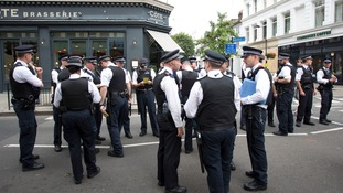 Police made 454 arrests during the Notting Hill Carnival