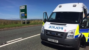 Police issue warning to bikers & drivers after A6 crash