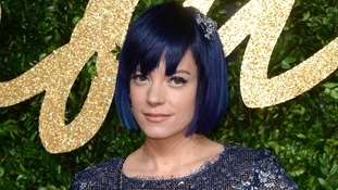 Lily Allen said she had drunk two cans of cider.