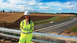 Highways England Assistant Project Manager, Charlotte Wright
