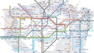 Walk the Tube: Map reveals number of steps between stations
