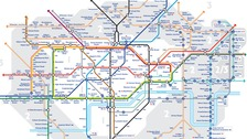 New Tube map reveals number of steps between stations