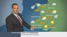 Wales weather: fine and dry with warm sunshine
