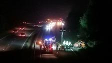 Three-year-old girl dies following car crash in Oxford