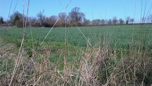 The site at Lubbesthorpe where there are plans for more than 4000 homes