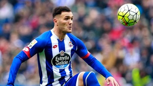 Arsenal sign Spanish striker from Deportivo La Coruna