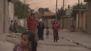 Qayyarah is a town of 15,000 people