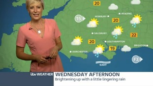 Tuesday's forecast for the west of the region