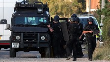 40-hour armed stand-off ends peacefully and safely