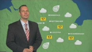 East Midlands Weather: Rain in the morning
