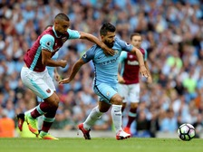 The Manchester City forward was involved in an incident with West Ham United's Winston Reid in the 76th minute  Read more at http://www.thefa.com/news/governance/2016/aug/sergio-aguero-charged-manchester-city-west-ham-united#CzF23FUWktHeyY2S.99