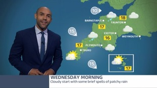 South West weather - a cloudy start but it's getting better this afternoon