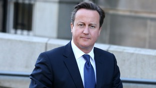 David Cameron delivers his major speech on crime on Monday