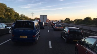 Collision near Bridgwater closes M5