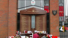 Hillsborough families to see new setting for memorial at Anfield