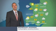 Wales weather: turning brighter, remaining showery
