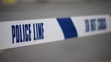 Arrests after gun found