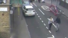 CCTV shows missing 15-year-old girl holding hands