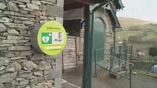 Defibs at heart of Cumbria's communities