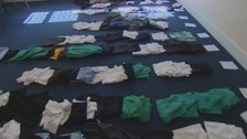 Charlene Paterson is collecting school uniforms to help other parents.