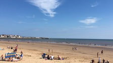Hazy, lazy days of summer at Bridlington