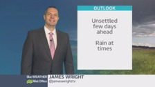 Wales weather: An unsettled few days ahead