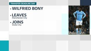 Stoke City sign Wilfried Bony on loan