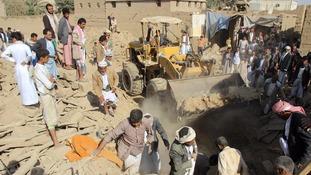 At least 16 members of same family killed in Saudi-led airstrike in Yemen