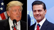 Mexican president faces backlash for inviting Trump for talks