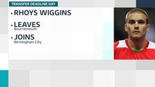 Rhoys Wiggins joins Birmingham City on loan