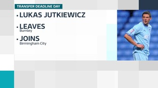 Birmingham City sign striker Lukas Jutkiewicz on loan from Burnley