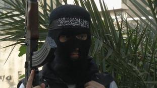 A Sunni gunman, an opponent of Syria President Bashar Assad
