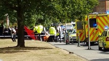 Woman and boy killed by car being chased by police